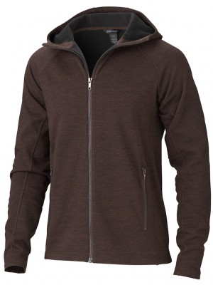 Rich Brown Heather - Marmot Gates Hoody