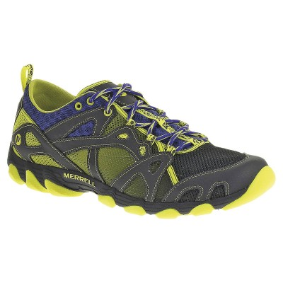 Sleet/Lime - Merrell Hurricane Lace