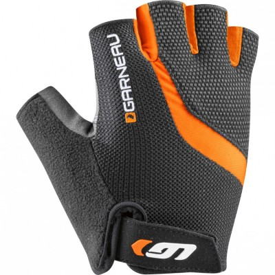 Black/Orange - Garneau Biogel RX-V Gloves
