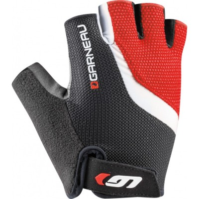 Black/Red - Garneau Biogel RX-V Gloves