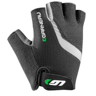 Grey/Green logo - Garneau Biogel RX-V Gloves