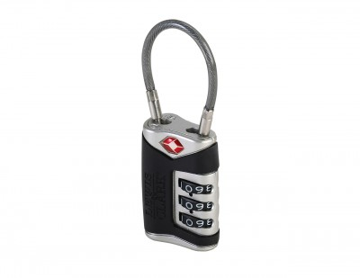 Lewis'n Clark Cable Lock Black