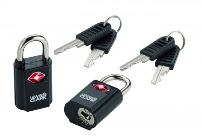 Lewis'n Clark Travel Sentry Mini Padlocks Set