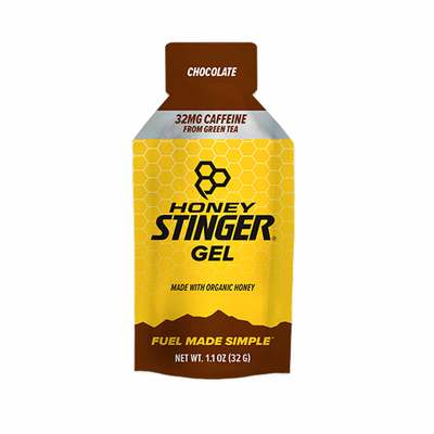 Chocolate - Honey Stinger Energy Gel (Caffeine)