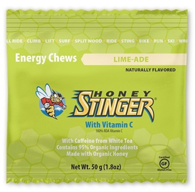 Lime-Ade - Honey Stinger Energy Chews (Caffeine)