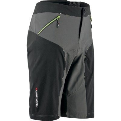 Black/Grey/Green - Garneau Stream Techfit Short