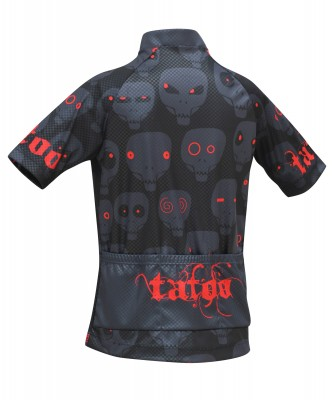 - Tatoo Jersey Niño Gray Skulls