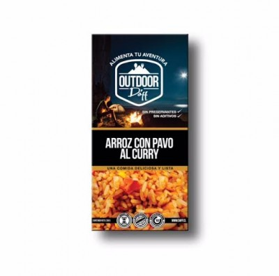 Daff Arroz con Pavo al Curry Outdoor 200grs