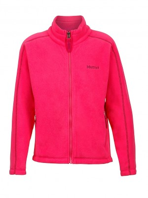 Gypsy Pink - Marmot Girl`s Lassen Fleece