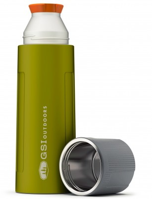 Green - GSI Glacier Stainless 1 L Vacuum Bottle
