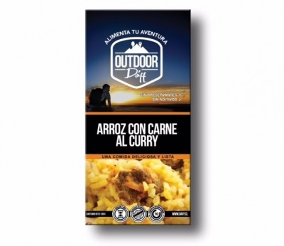 Daff Arroz con Carne al Curry Outdoor 200grs