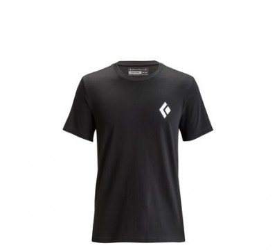 Black - Black Diamond M´s SS Equipmnt For Alpinist Tee
