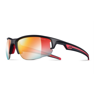 Mat Black /Red (Yellow Fire Flash) - Julbo Venturi Zebra