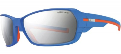 Mat Blue / Orange (Smoked) - Julbo Dirt² Spectron 4