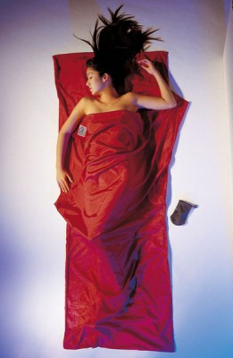 Monk·s Red - Cocoon Travel Sheet Silk/Egypt. Cotton