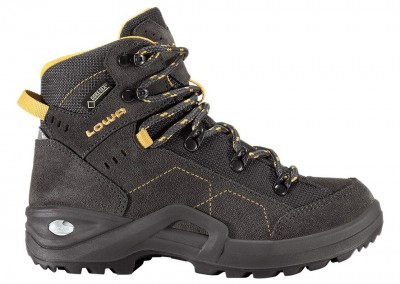 Anthracite/Yellow - Lowa Kody III GTX® Mid Junior