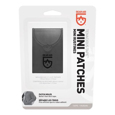 - Gear Aid (McNett) Tenacious Tape™ Mini Repair Patches