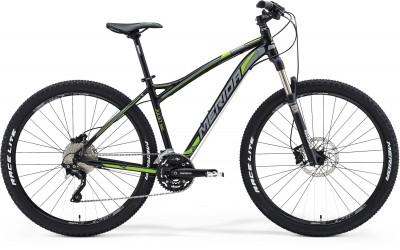 Silk Black(Grey/Green) - Merida Bikes Juliet 500-B - 2015