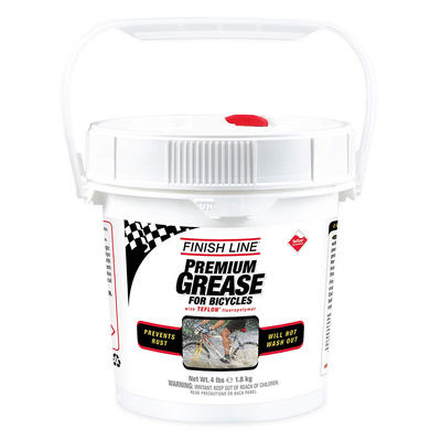4 lb - Finish Line Grease Premium Synthetic 3.5 oz.