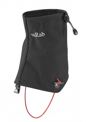 BLACK - Rab Hunza Stretch mid gaiter