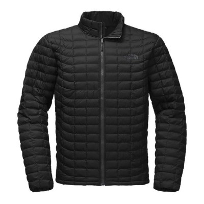 Matte Black - The North Face Thermoball Full Zip Jacket