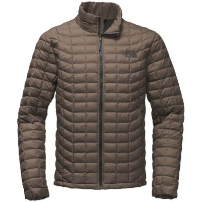 Falcon Brown Matte - The North Face Thermoball Full Zip Jacket