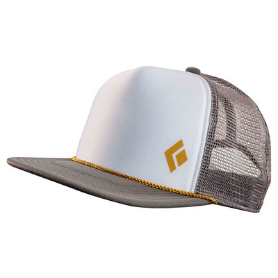 Granite-Curry - Black Diamond Flat Bill Trucker Hat