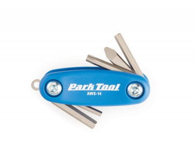 Park Tool AWS-14 Mini Fold-Up Hex Key Set