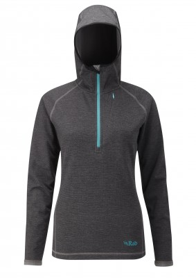 Anthracite - Rab Nucleus Hoody Wmns