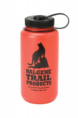 Nalgene Wide-Mouth Round Loop-Top Bottle