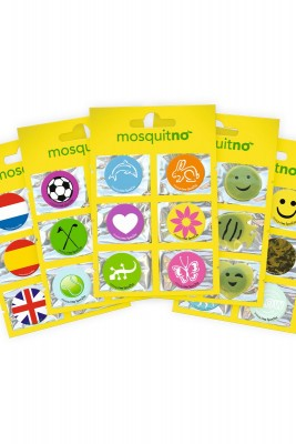 Mosquitno Fun Citronella Sticker Box