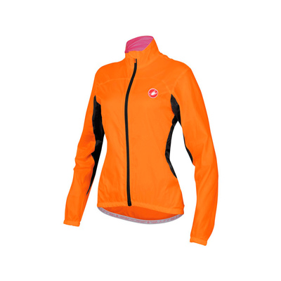 Orange Fluor - Castelli Velo W Jacket