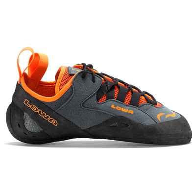 Anthracite/Orange - Lowa Falco Lacing