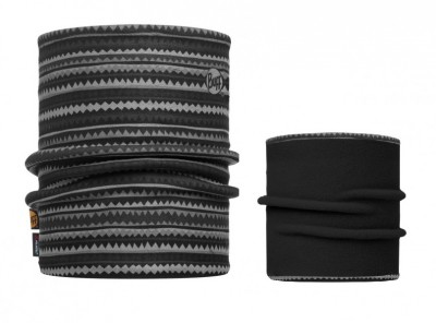 Picus Grey / Black - Buff® Reversible Polar Neckwarmer Buff®