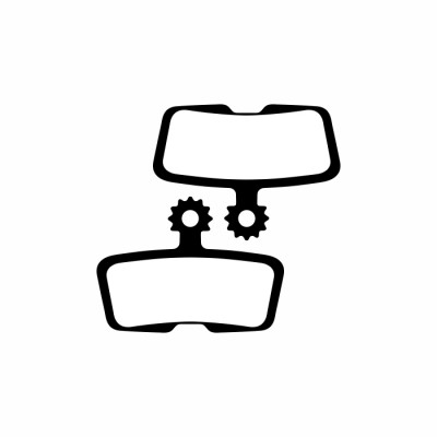 RavX Disc Brake Pad Avid Code R Semi-Metal