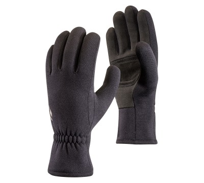 Black - Black Diamond Midweight Screentap Gloves