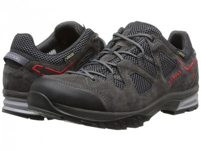 Anthracite/Red - Lowa Phoenix GTX Lo
