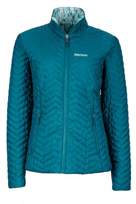Deep Teal/Deep Teal Ice - Marmot Wms Turncoat Jacket