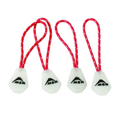 MSR Night Glow Zipper Pulls