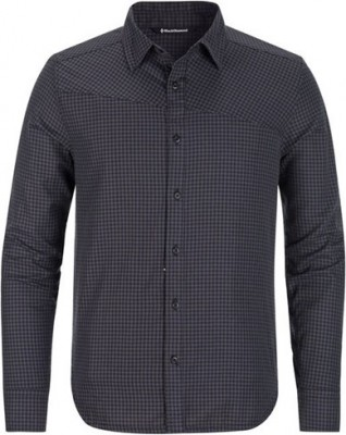 Slate-Smoke Gingham - Black Diamond M´s LS Spotter Shirt