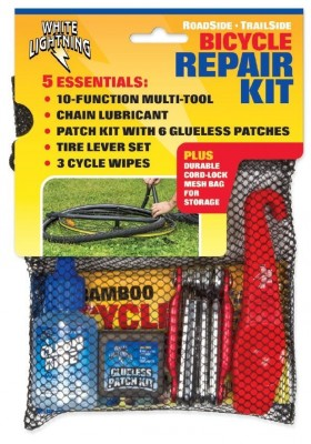 White Lightning Bicycle Repair Kit