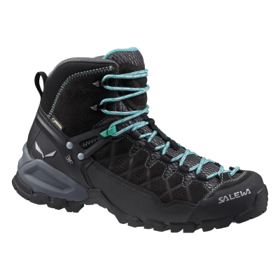 Black Out/Agata - Salewa Ws Alp Trainer Mid GTX