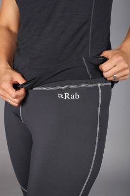 Costuras Planas - Logo Reflectantes - Rab Flux Pants Mujer