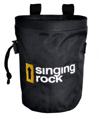 Singing Rock Chalk Bag L Black Pack. 10 Pcs