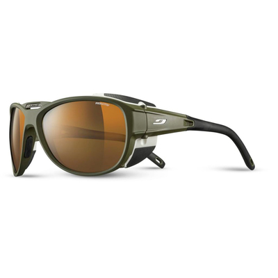 ARMY GREEN MAT/WHITE - Julbo Explorer 2.0 Reactiv Camaleon