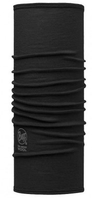 Slim Fit Solid Black - Buff® Lightweight Merino Wool Buff®