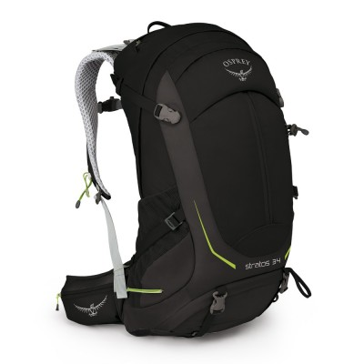 Black - Osprey Stratos 34