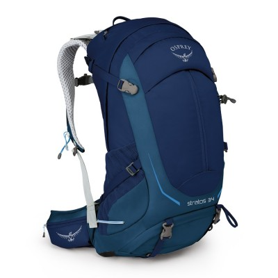 Eclipse Blue - Osprey Stratos 34