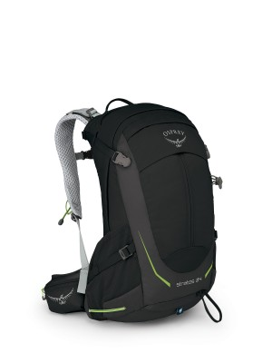 Black - Osprey Stratos 24