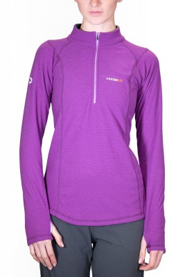 Grape - Tatoo Half Zip Creek Women